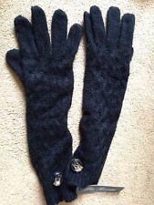 Pia Rossini -Angela gloves - long gloves. Black. bnwt