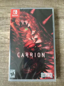 Carrion - Limited Run Games Variant - Nintendo Switch -
