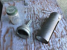 Vintage Old Syle Nos Tilley Lamp items funnel bottle other