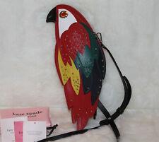 NWT KATE SPADE Bird Rio Parrot Crossbody Bag Leather Shoulder Purse $398