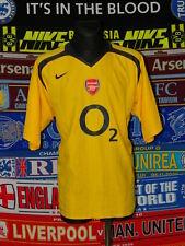 5/5 Arsenal adults XXL 2005 MINT away football shirt jersey trikot soccer