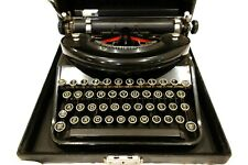 Antique Underwood Noiseless Portable 77 Typewriter In Case Works Nice!