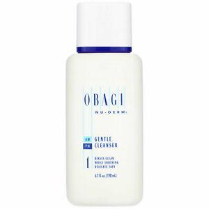 Obagi NU-DERM Gentle Cleanser NEW SEALED 6.7oz / 198ml FRESHEST ON EBAY
