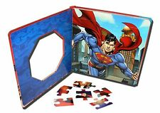 "DC COMICS ""SUPERMAN"" BOOK WITH 4 PUZZLES IN SPANISH, FROM MEXICO 3+"