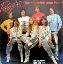 """7"""" 1981 SUNG FRENCH ! PUSSYCAT Une Chambre Pour La Nuit"""