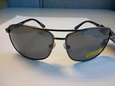 Foster Grant Gunmetal Gray Polarized Oscar Sunglasses 100% UVA/UVB