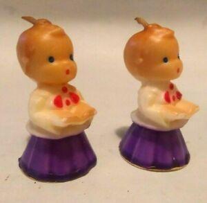 Set Of 2, Vintage Gurley Choirboy Candles ( Last Ones!!! )
