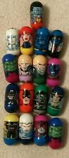 MARVEL Super Hero Mighty Beanz Beans lot, X-Men, Skrull, Cpt America, Thanos +++