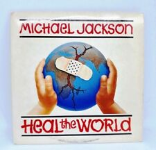 MICHAEL JACKSON heal the world CD SINGLE card sleeve