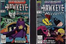 Marvel Comics. HAWKEYE + Doctor Druid + Hellcat.  Solo Avengers  c1.272