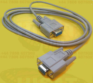 Null Modem Cable RS232 Female to RS232 Female DB9 - DB9 Computer to Computer