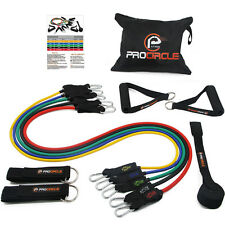 PROCIRCLE Resistance Bands Tube Set Perfect for Strength & Power Training