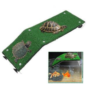 Tortoise Turtle Platform Basking Suction Cup Habitat Terraces Climbing Ladder AU