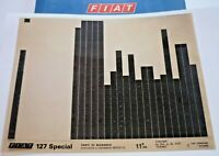 FIAT 127 Special  11.Auflage ca. 1978 original Ersatzteil Katalog ETK