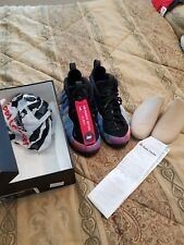Nike Air Foamposite One alternate galaxy Big Bang sz 12 100% Auth VNDS receipt