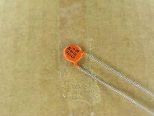 S00774-132 (10 Piece Lot) 39 pf 1000 volt 1KV 5% C0G leaded ceramic capacitor
