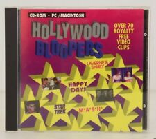 Hollywood Bloopers (1994, PC/Macintosh CD ROM) Kudo Outtakes from M*A*S*H, Happy