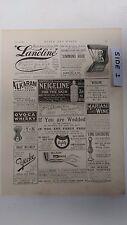 Lanoline Soap; Scavengers At Covent Garden: 1894 Black & White Magazine Pages