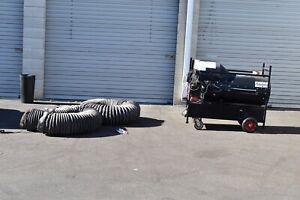 Flagro USA Indirect-Fired Heater — 200,000 BTU, Diesel Model# FVO-200