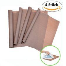 4x Dauerbackfolie Dauerbackpapier Teflon Backpapier Backtrennfolie 35x42cm 260 C