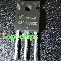 5Pcs G30N60B3D HGTG30N60B3D TO-247  ic  Chip  new