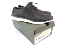 Timberland Men's Franklin Park Dark Brown Leather Oxford Shoes A1N6B size 9 NEW
