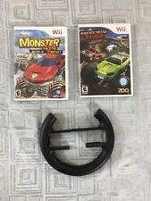Wii Racing Steering Wheel and driving games kit. Great gift idea!!! Racing game