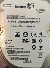"Seagate Momentus 750 GB 7200RPM 2.5"" SATA Notebook Laptop Hard Drive ST9750420AS"