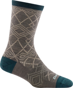 Darn Tough 6026 Taupe Women's Grace Crew Lightweight Lifestyle Sock USA