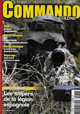 COMMANDO MAGAZINE N° 36 / LES SNIPERS DE LA LEGION ESPAGNOLE - COREE DU SUD