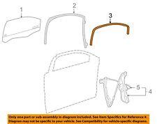 NEW OEM GM Front Door Glass Run Channel 20864019 Pontiac G6 Sedan 2005-2010