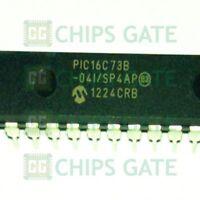 1PCS PIC16C73B-04/SP IC MCU 8BIT 7KB OTP 28SDIP Microchip