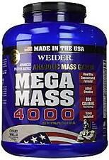 WEIDER MEGA MASS 4000 3.9 LBS - COD FREE SHIPPING