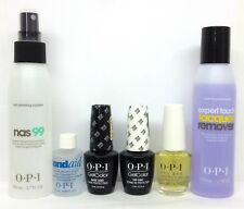 OPI GelColor 6pc Kit NAS 99+ pH Bond+ Base+ Top+ Cuticle Oil .5oz+ Remover 3.7oz