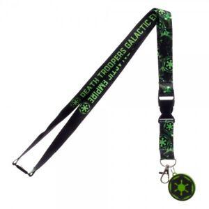 Star Wars Rogue One Empire Lanyard Neck Strap Necklace ID Holder Keychain