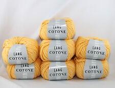 Lang Yarns Cotone Farbe 49    7x50g=350g