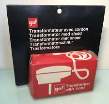 Vintage GAF Transformer with Cord for View-Master Viewers and Slide Viewers