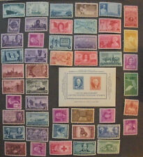 US Stamps Mint NH 1946 1947 1948 1949 Year Sets complete Scott 939 - 986