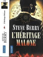 Steve BERRY--L'HERITAGE MALONE--Pocket Thriller