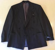 Polo Ralph Lauren 100% Wool Double Breasted Blazer Jacket Sport Coat 39R 49R EU
