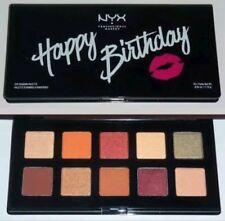 Ulta NYX Happy Birthday Eye Shadow Palette 10 Shades New SEALED