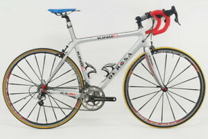 2010 De Rosa King 3 Road Bicycle Size Large Carbon Fiber Campagnolo Record 2x10