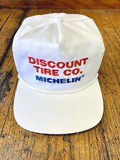 Vintage Michelin Discount Tire Co / Michelin Double Snapback Trucker Hat