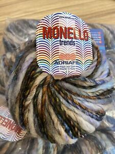 Monello Trends By Adriafil 10 X 50g Balls 061 Wool & Acrylic Mix SALE