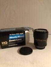 Minolta Mount Zoom Lens 28-70mm Wide Angle 1:3.5-4.5 Korea NOS