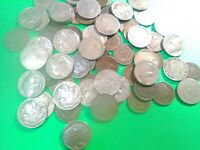 Lot of 20 U.S. Coins - Indian Head Pennys/Buffalo & V Nickels W/Full Dates