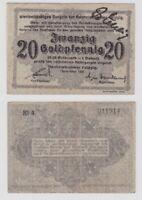 20 Goldpfennig Banknote Leipzig Handelskammer November 1923 (137342)