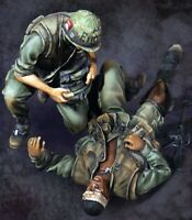 1/35 Resin Nam War the Wounded & Corpsman Unassembled Unpainted BL506