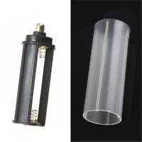 1PCS 18650 Battery Tube + 1PCS AAA Battery Holder for Flashlight Torch Lamp cn