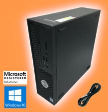 Dell Precision Tower 3420 SFF | Core i5-7500 | 16GB RAM | 256GB SSD | Windows 10